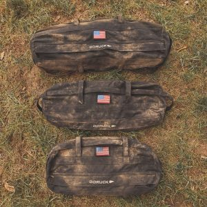 GORUCK Sandbags - this is what they look like when you use them