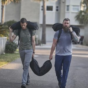 What do you do with a GORUCK sandbag - use it for rucking!