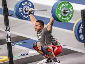 Heavy snatch with a rogue olympic WL barbell