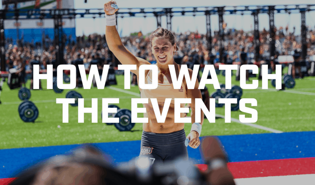 CrossFit Games 2020 - How to watch live streams