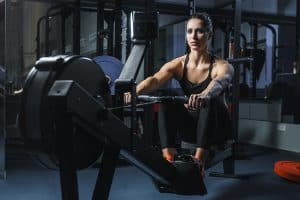 An indoor rower such as the Concept 2 Model D Rower is an excellent way to get a low-impact, full body workout. Concept2 rowers are very popular in CrossFit WODs.