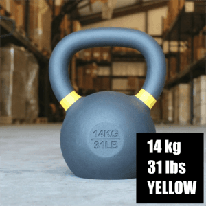 Kettlebell Kings - 14kg - Yellow