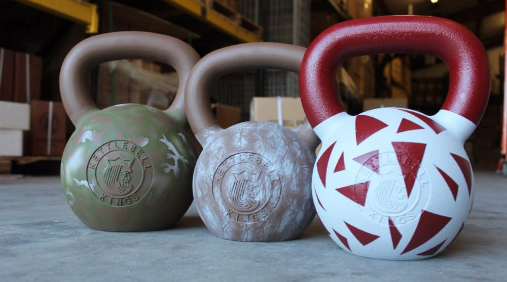 Cerakote kettlebells from kettlebell kings. Cerakote is a Polymer-Ceramic Composite coating that can be applied to metals, plastics, polymers and wood. The unique formulation used for Cerakote ceramic coating enhances a number of physical performance properties including abrasion/wear resistance, corrosion resistance, chemical resistance, impact strength, and hardness. Each of these properties is rigorously tested to guarantee that Cerakote products remain at the forefront of the ceramic coatings market. Cerakote ceramic coatings utilize state-of-the-art technology to out-perform any competitive coating in both laboratory settings and real world applications.