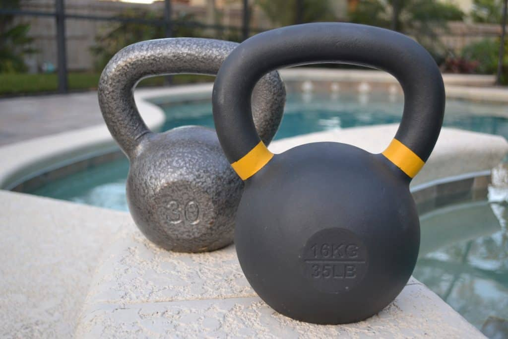 Kettlebell Kings - color coding and weight markings vs walmart cheap kettlebell