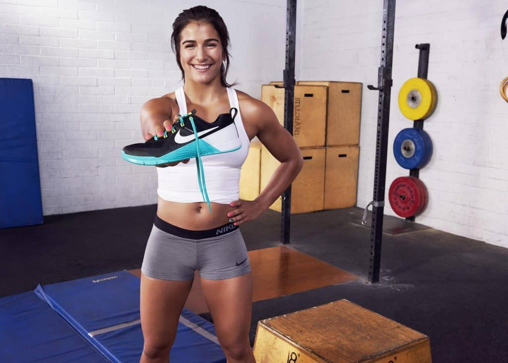 CrossFit athlete and games competitor Lauren Fisher has been involved with the development of Nike Metcon shoes since the start - hopefully she is now working on the Nike Metcon 5!