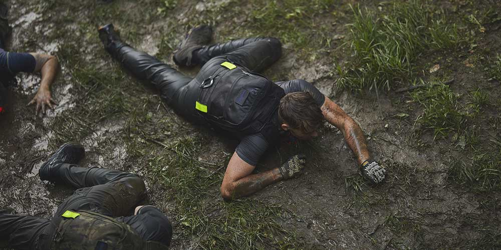 Low crawl - another PT you might be required to do for a GORUCK event