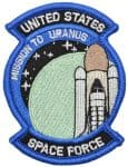 United States Space Force - Tactical Gear Junkie's Patch of the Month August 2018