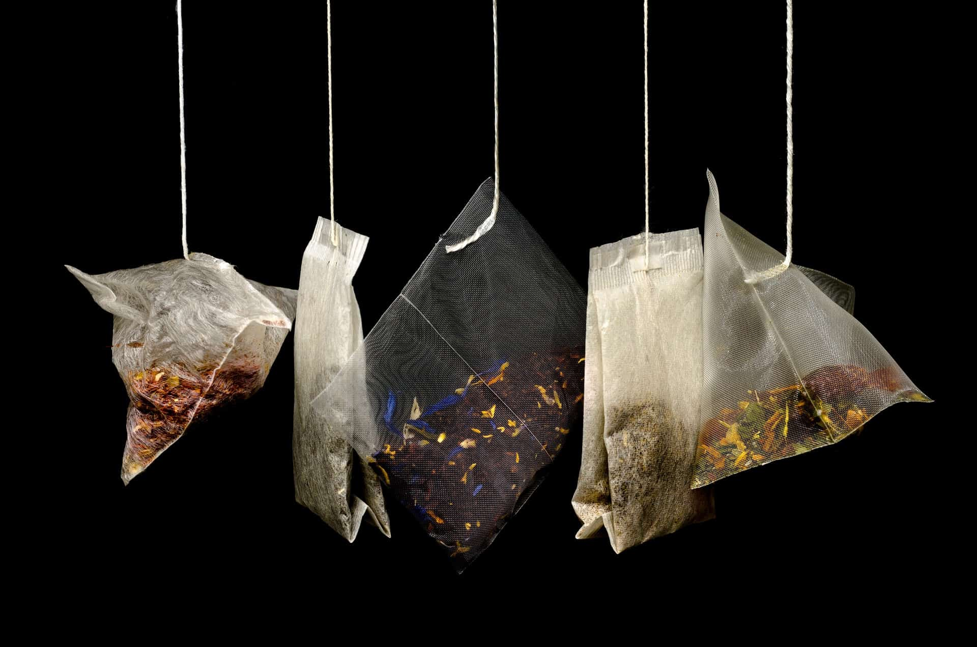 Tea bags - essential to creating the healthy, low-calorie beverage that is second only to water in world-wide consumption