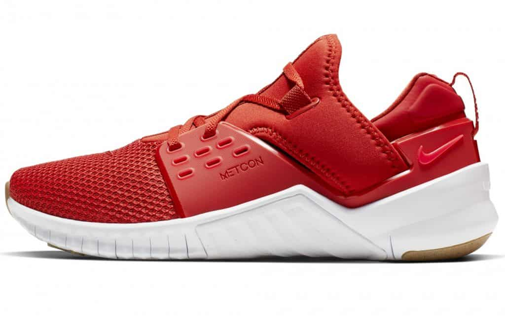 Nike Free X Metcon 2 in MYSTIC RED / RED ORBIT-GUM LIGHT BROWN