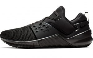 Nike Free X Metcon 2 in all black