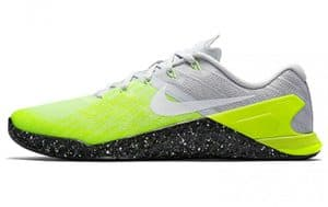Nike Metcon 3 - In Ghost Green color - a great CrossFit shoe