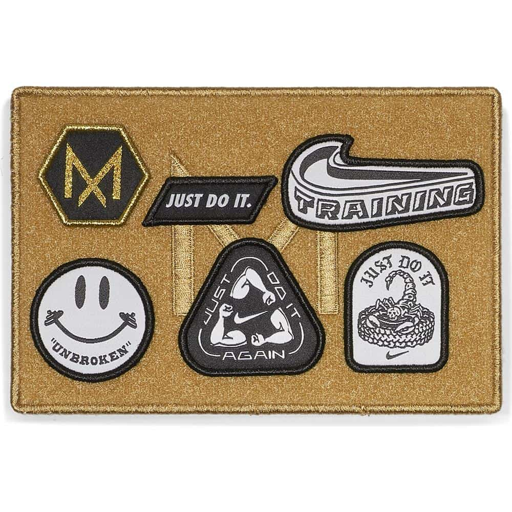 Nike Metcon 4 XD Patches - unique set of patches with each colorway