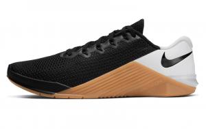 Nike metcon 5 Black/White/Gum Medium Brown
