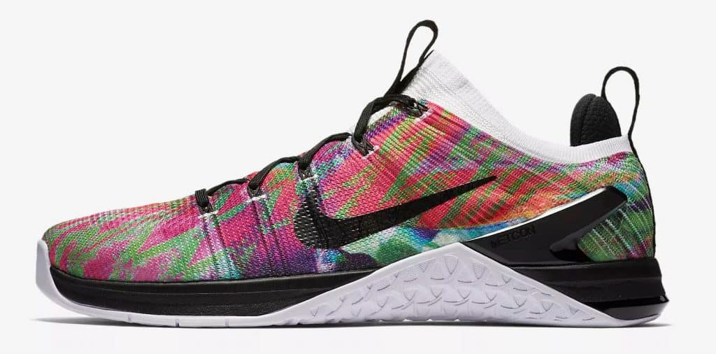 6cf5d174f10d8f Nike Metcon DSX Flyknit 2 - in WOD paradise color scheme - no two pairs are  ...