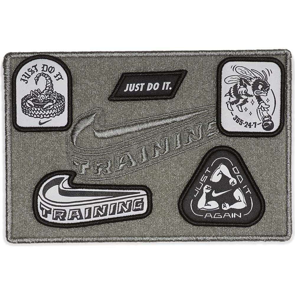 Patches that come with the Nike Romaleos 3 XD Patch shoes
