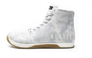 NOBULL high-top trainer in frostbite camo
