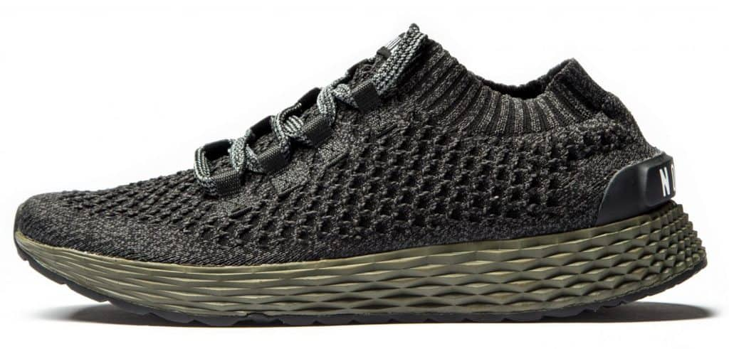 Designed with a breathable stretch knit upper and an outsole lug pattern equipped for multi-surface training, NOBULL's Black Ivy Knit Trainer is another high-performance, go-anywhere men's athletic shoe with no-nonsense style.