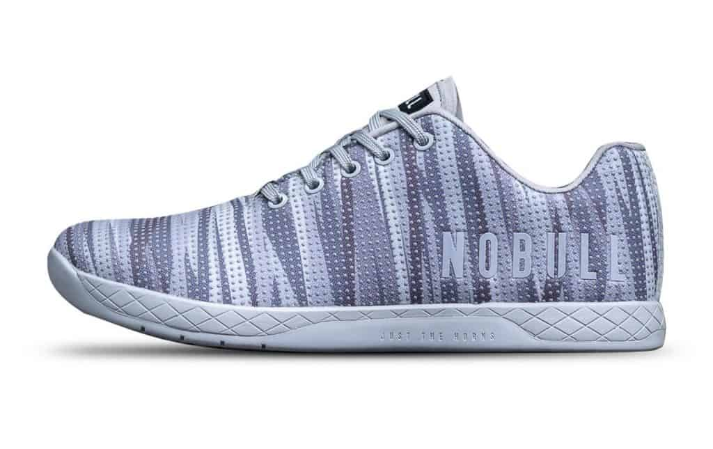 NOBULL Trainer in Matrix Burst pattern - Versatile and comfortable CrossFit training shoe -built for the rigors of the WOD