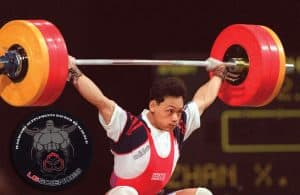 Olympic lifting - the snatch - one of two contested lifts