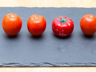 Pomodoro - Tomatoes and a timer