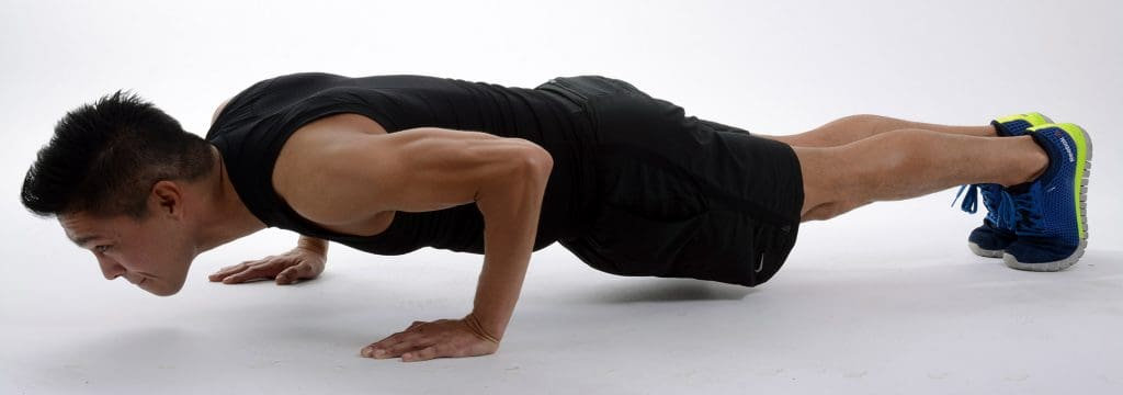 Push-up - the classic bodyweight exercise - do it anywhere!