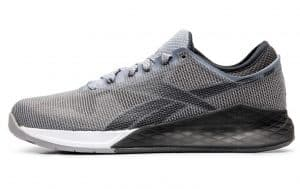 Reebok Nano 9 in Cool Shadow/Cold Grey color combo - great crosstraining shoe new for 2019