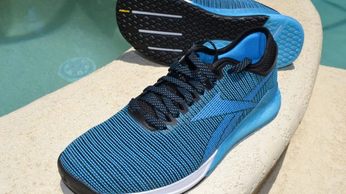 The Reebok Nano 9 is here - Reebok's newest version of the CrossFit training shoe.