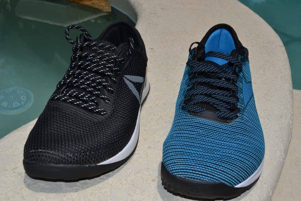 The Nano 9 and Nano 8 are similar in size - both are a low-cut design with a wide toebox.