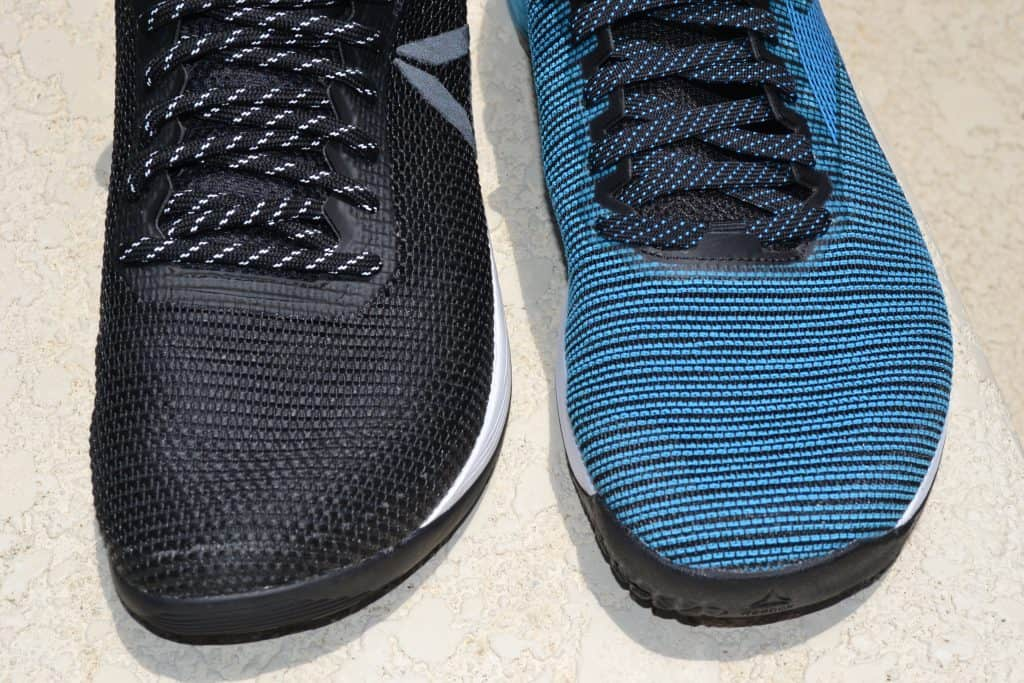 The Nano 9 keeps the wide toebox of the Nano 8 - for stability and comfort