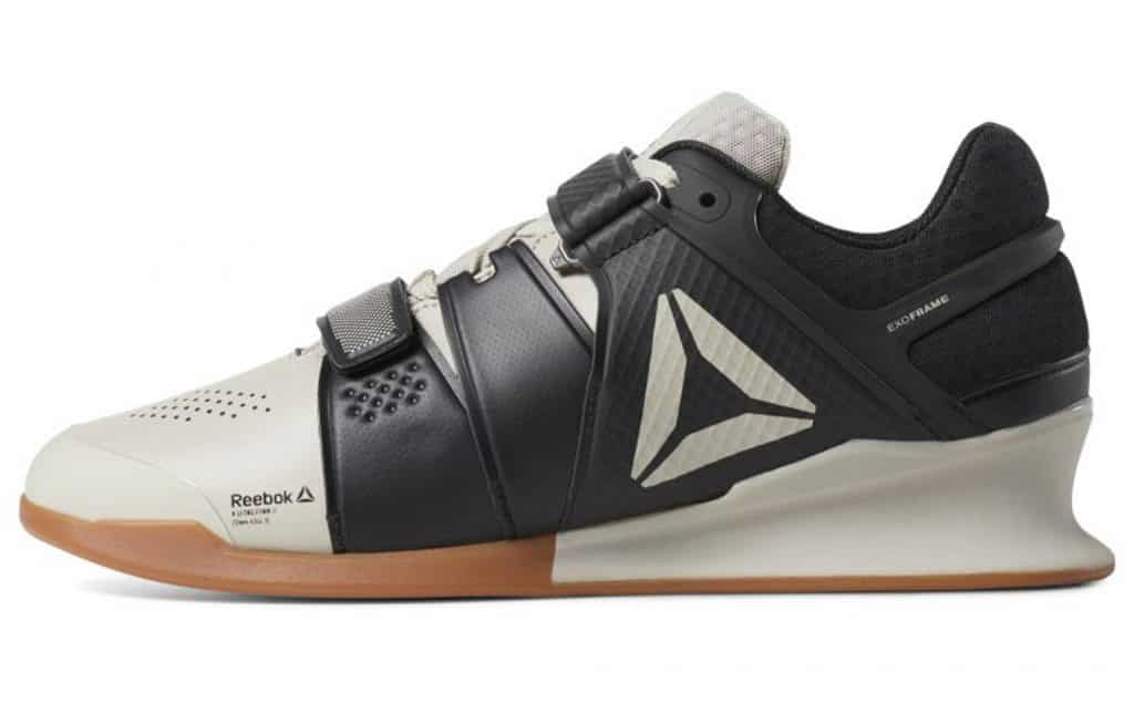 Reebok Legacy Lifter shoe - black/sand/gum color combination - new for 2019