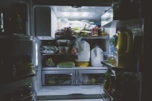 Refrigerator - clean it out and make room for some Paleo friendly foods