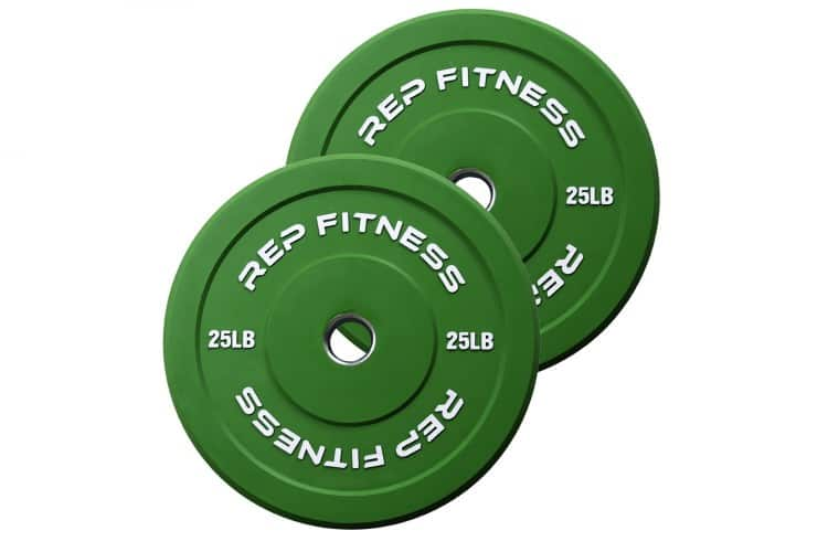 Rep Color Bumper Plates