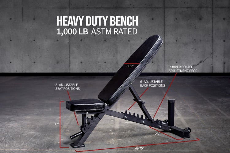 AB-3100 Adjustable Bench