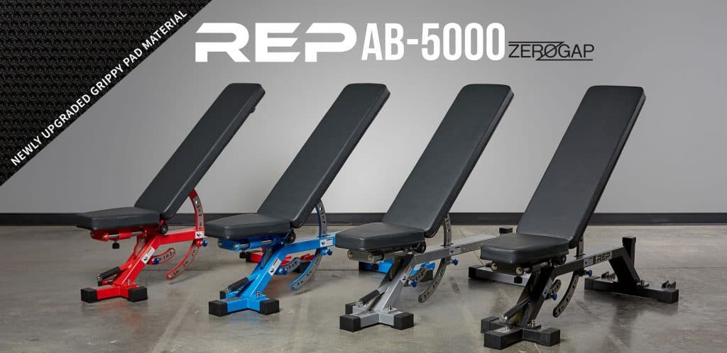 AB-5000 Adjustable Bench Black Friday 2019 Rep Fitness