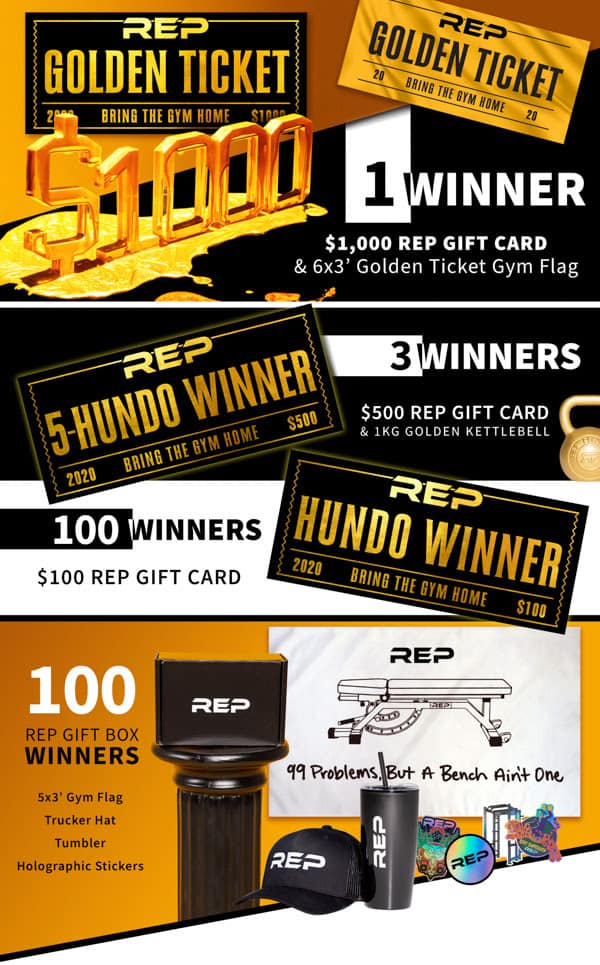 Rep Fitness Black Friday Sale 2020