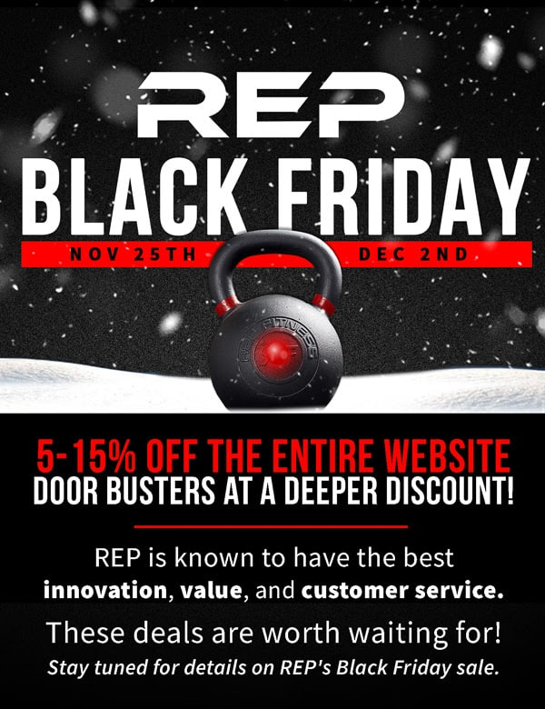 Rep Fitness Black Friday Sale Soon
