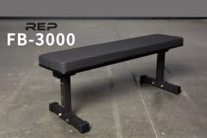 FB-3000 Flat Bench from Rep Fitness