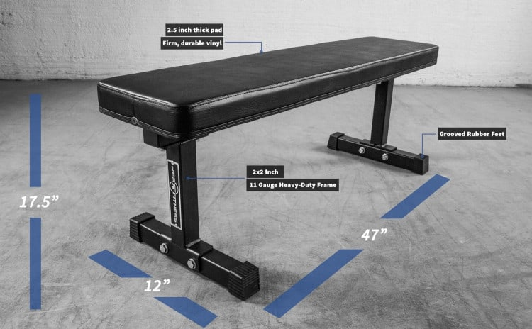 FB-3000 Flat Bench specifications