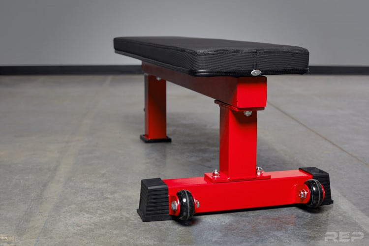 FB-4000 Comp Lite Bench in red
