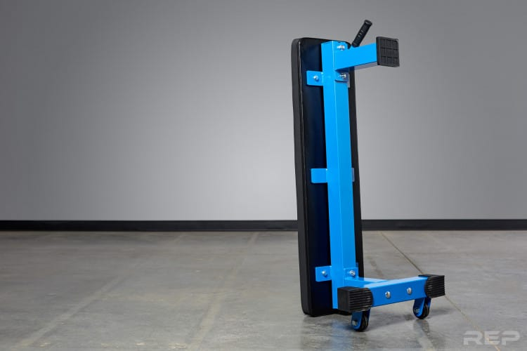 FB-4000 Comp Lite Bench can be stored vertically
