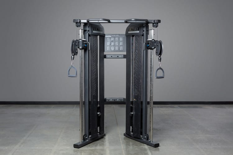 REP FT-3000 Victory Compact Functional Trainer - this functional trainer features a compact design ideal for home gyms and smaller commercial facilities.