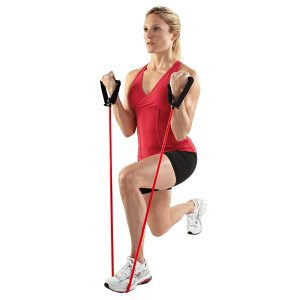 Resistance bands - easy to pack and they add options to an otherwise bodyweight only exercise routine