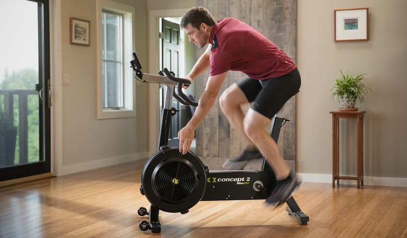 Concept 2 BikeErg - like a road bicycle