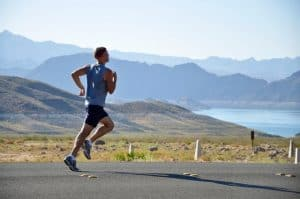 Running on the road may require special attention to cushioning - to prevent injury from the repeated, jarring impacts