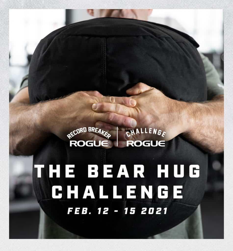 Rogue Bear Hug Challenge February 2021
