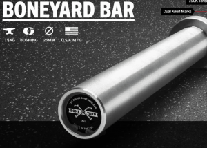 Rogue Boneyard bars are a great way to get a terrific barbell at a bargain price