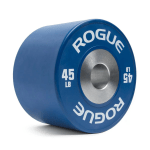 Rogue Dumbbell Bumpers - use them with a loadable dumbbell, or as a compact option with a regular bar - or anywhere you need compact or quiet weights!