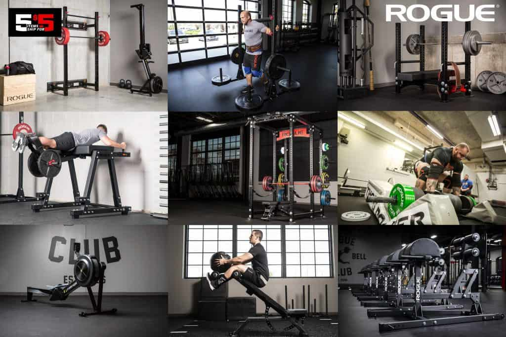 Rogue 5 for 5 shipping during Cyber Monday is the best way to save big on gym equipment in 2019.