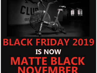 Rogue Fitness Black Friday 2019 is now Matte Black November