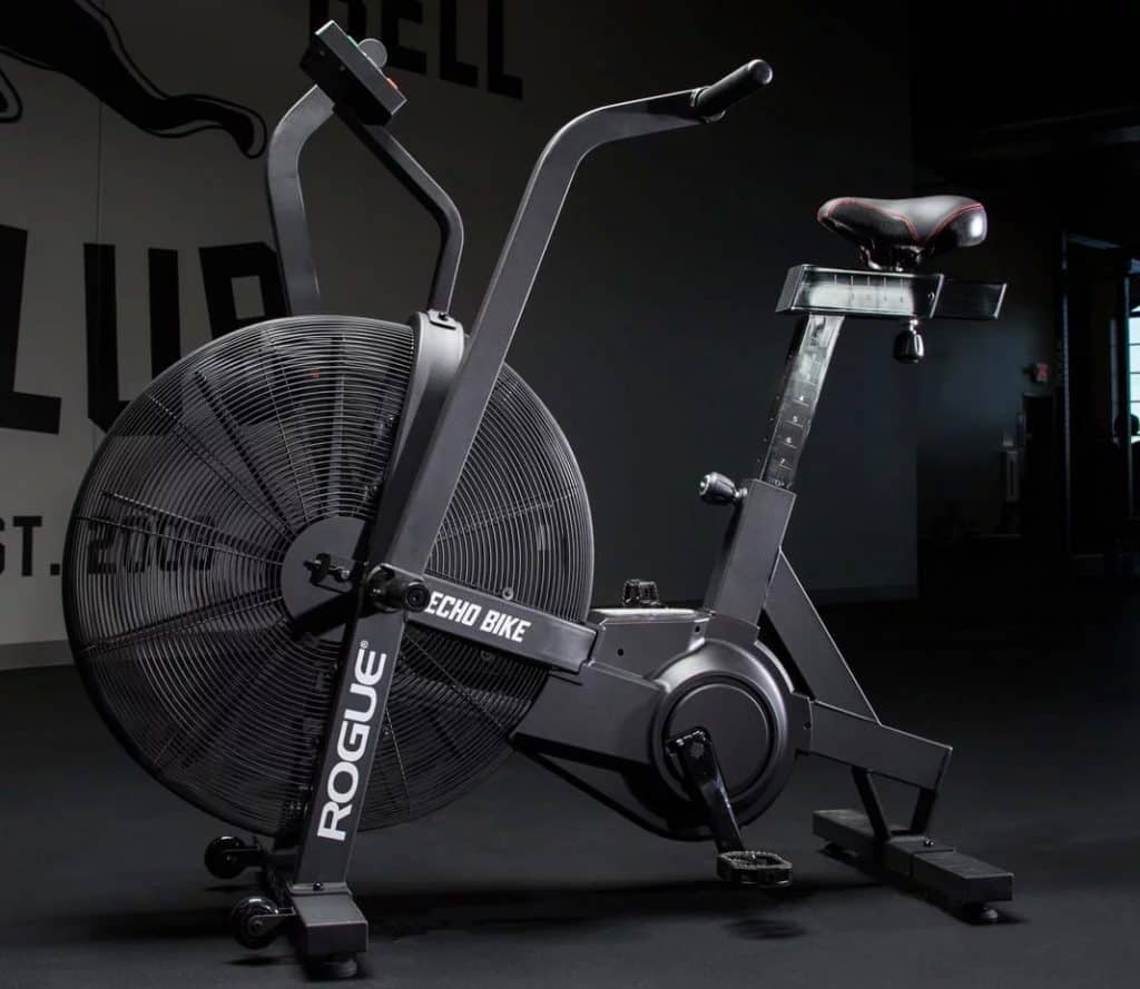 The Rogue Echo Bike combines heavy-duty steel, precision engineering, and convenient customization to forge a stronger, sturdier fan bike.